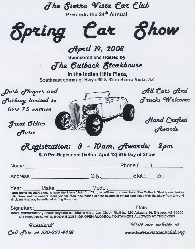sierra vista car club - gallery